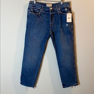 Free people slim boyfriend jeans size 29